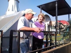 Josh Frye and Congresswoman Capito