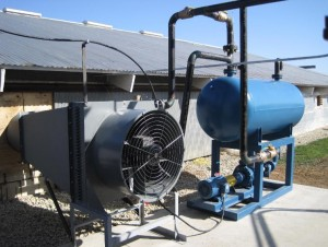 P&J Heat Exchanger Fan and Oil Tank